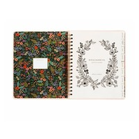 2019 Large Spiral Bound Bouquet  Planner by Rifle Paper Co