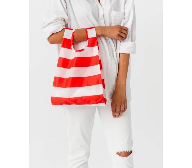 Red Stripe Baby Bag by Baggu