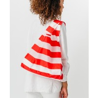 Red Stripe Standard Bag by Baggu