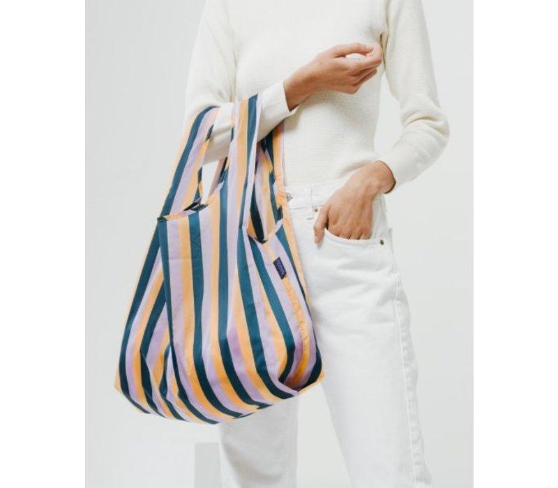 Peach 90s Stripe Standard Bag by Baggu