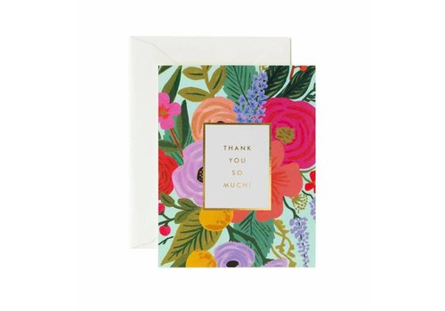 Rifle Paper Co. Garden Party Thank You Card by Rifle Paper Co.