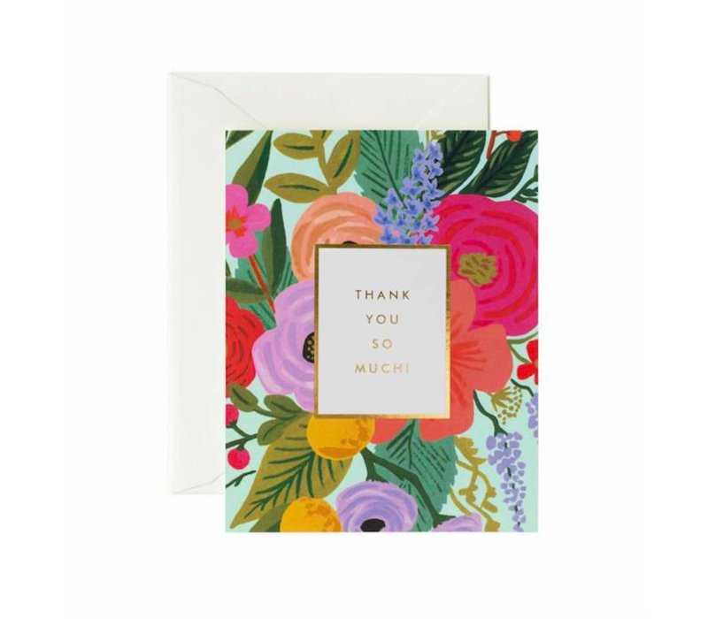 Garden Party Thank You Card by Rifle Paper Co.