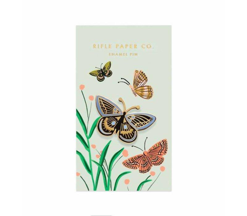Butterfly Enamel Pin by Rifle Paper Co