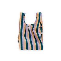 Peach 90s Stripe Baby Bag by Baggu