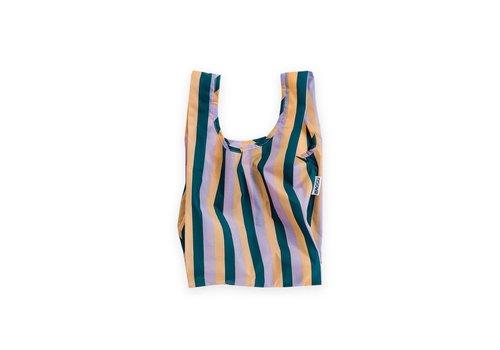 "Petit Sac ""Peach 90s Stripe"" par Baggu"