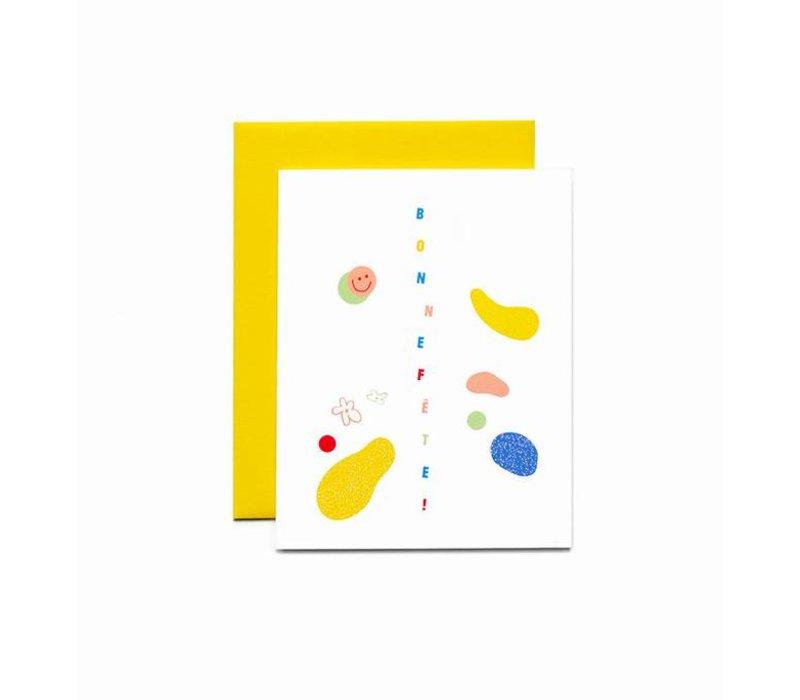 """""""Bonne fête!"""" Card by Bien à Vous"""
