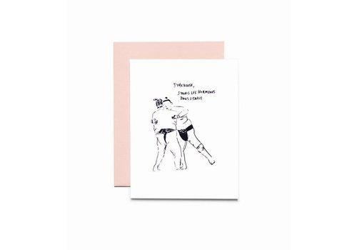 """""""Hormones"""" Card by Bien à Vous"""