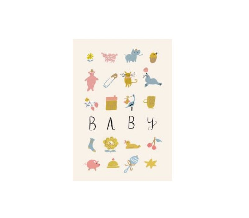 Baby Card by Roger Laborde