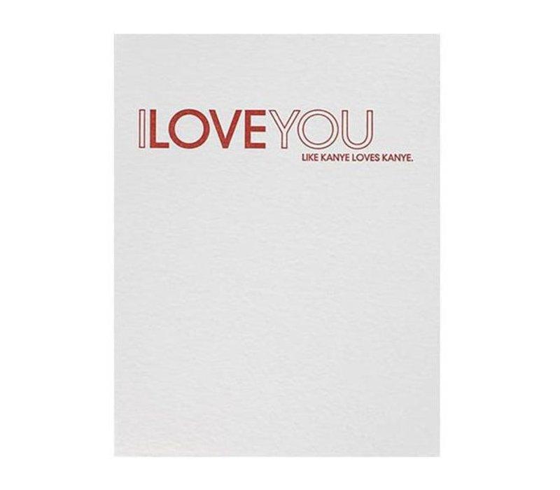 Kanye Card by Sapling Press