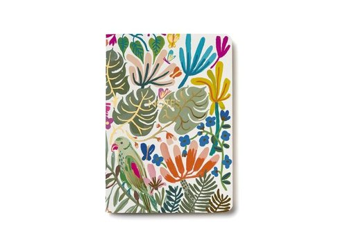"Cahier ""Tropical jungle"" par Red Cap Cards"