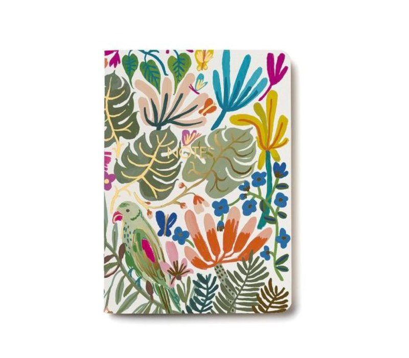 Tropical Jungle Notebook by Red Cap Cards