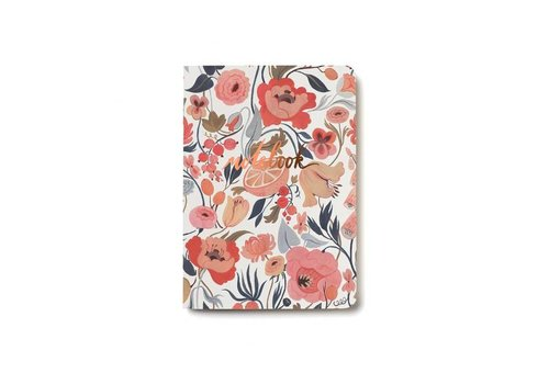 Citrus Peach Notebook by Red Cap Cards