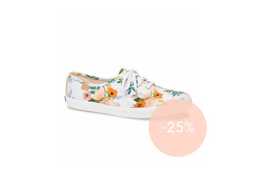 Keds x Rifle Paper Co. Keds X Rifle Paper Co. Champion Lively Floral Shoes in White