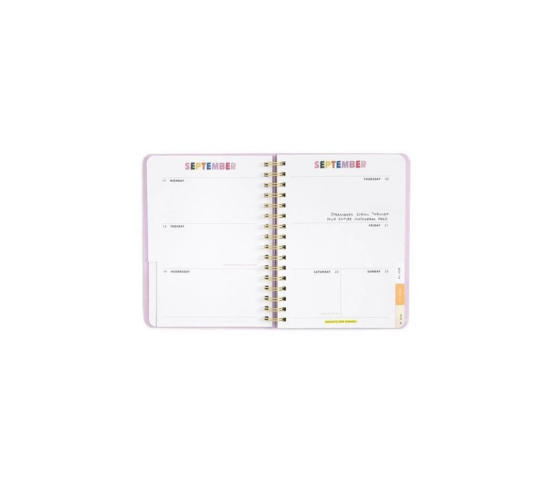 """2018-2019 """"I am very busy"""" Medium Planner by Ban.do"""