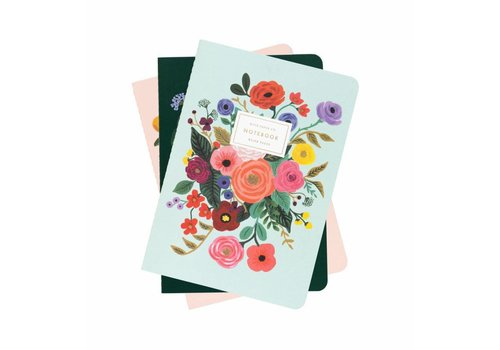 "Rifle Paper Co. Ensemble de 3 carnets ""Garden Party"" par Rifle Paper Co."
