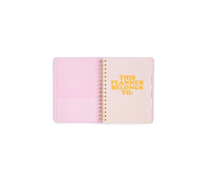"2018-2019 ""Pearlescent"" Medium Planner by Ban.do"