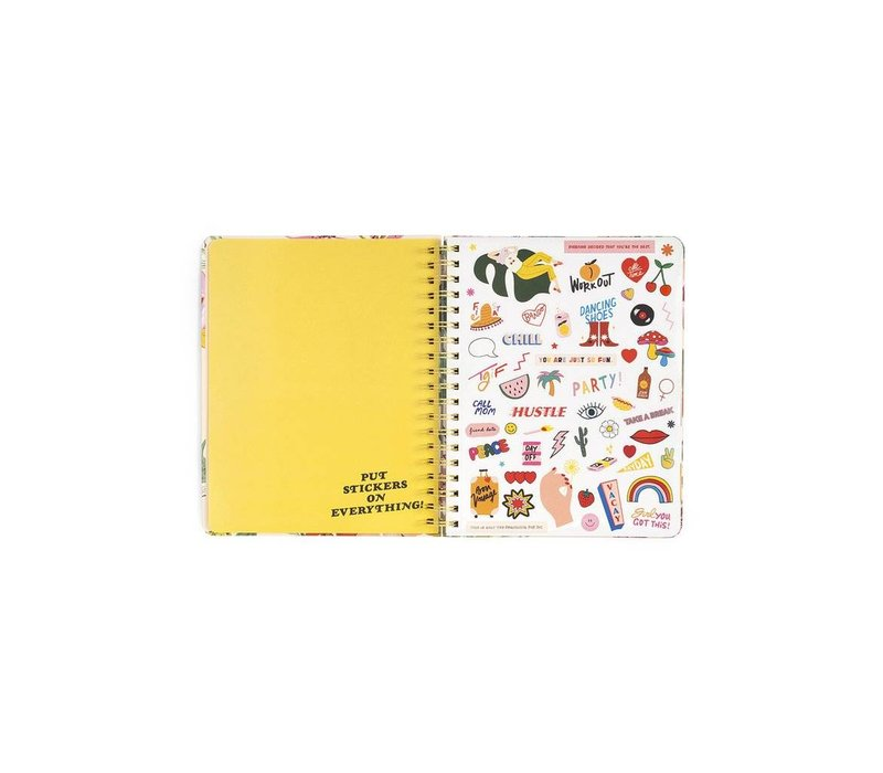 """2018-2019 """"Pearlescent"""" Large Planner by Ban.do"""