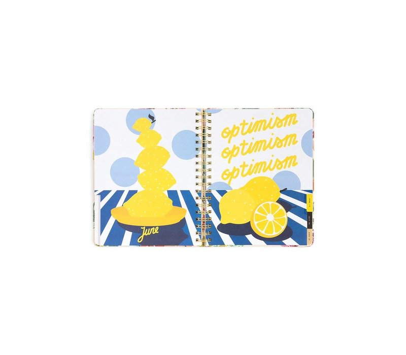 """2018-2019 """"Garden Party"""" Large Planner by Ban.do"""