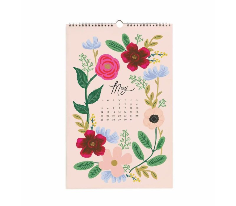 2019 Wildwood wall Calendar by Rifle Paper Co.
