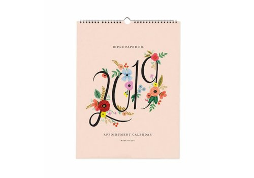 "Rifle Paper Co. Calendrier de rendez-vous 2019 ""Bouquet"" par Rifle Paper Co."