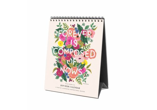 Rifle Paper Co. 2019 Inspirational quotes Desk Calendar by Rifle Paper Co.