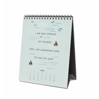 2019 Inspirational quotes Desk Calendar by Rifle Paper Co.