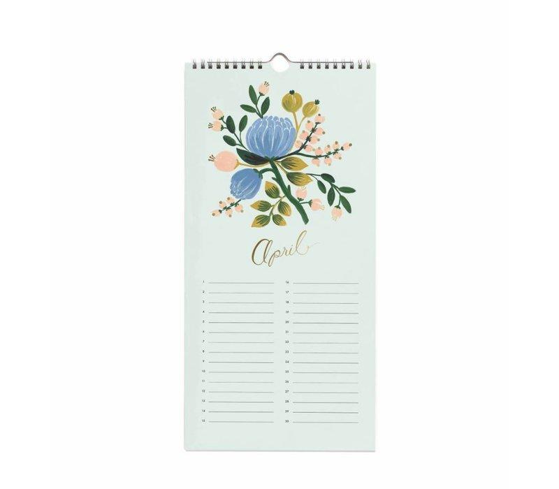 2019 Celebration Calendar by Rifle Paper Co.
