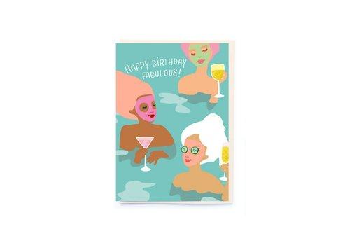 """Noi publishing Carte """"Spa girls"""" par NOI"""