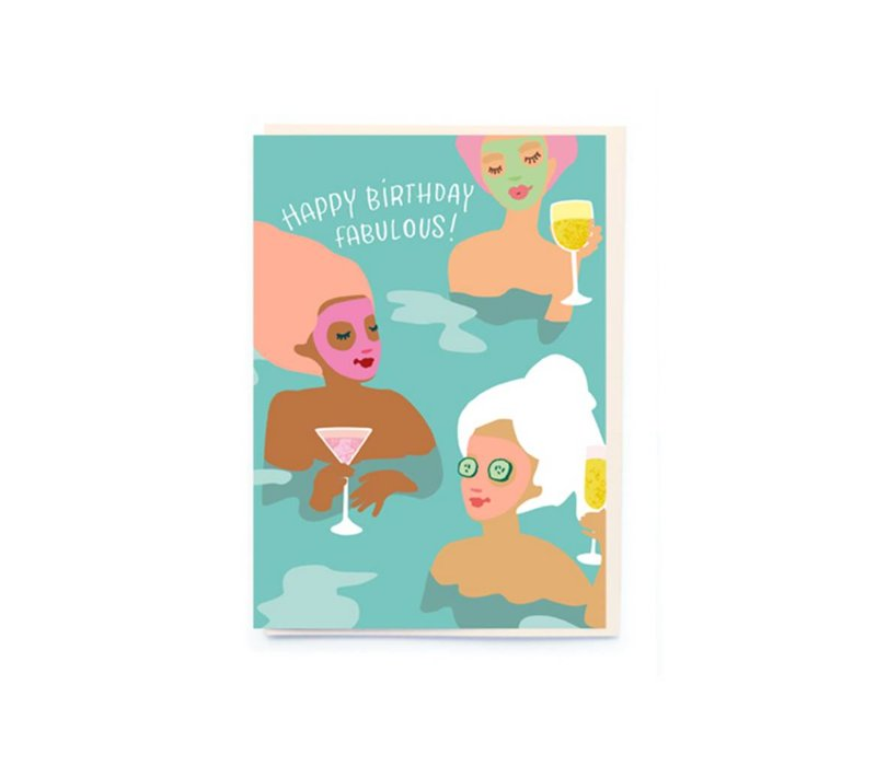 Spa girls Card by NOI