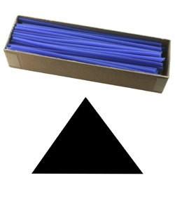 CA793-10 = Wax Wire Blue TRIANGLE 10ga 2oz BOX
