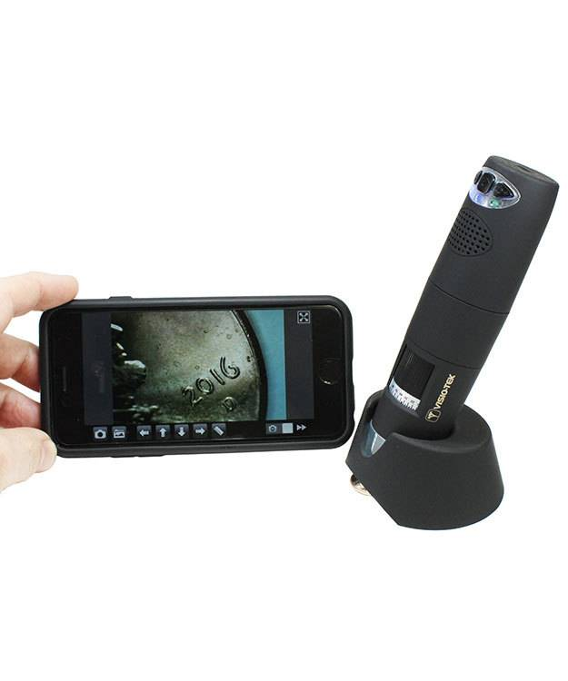 EL2995 = Visio-Tek Standard Wireless Digital Microscope