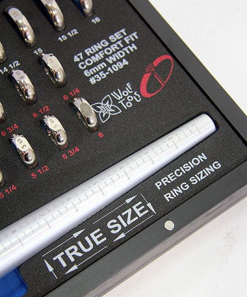 GA1094 = Wolf Tools TRUE-SIZE Ring Sizing System by Ikohe