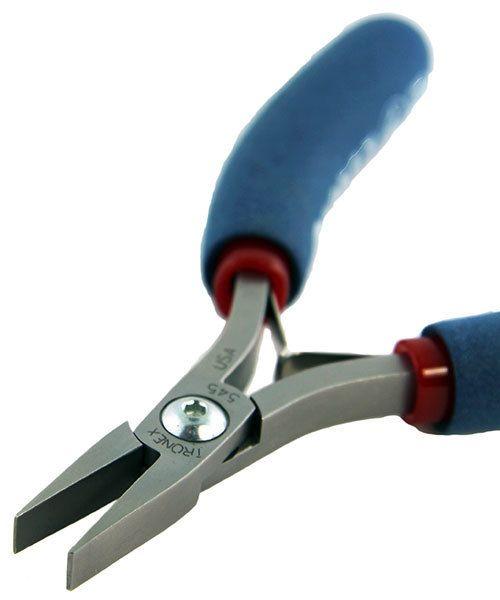 PL30545 = Tronex 545 Wide Flat Nose Pliers - Short Handle