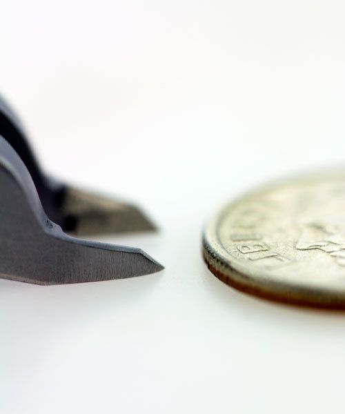 PL35049 = Tronex 5049 Miniature Tip Flush Cutter - Short Handle