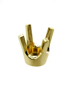120-33 = 4 Prong Round Low Base Head 33pt 14KY