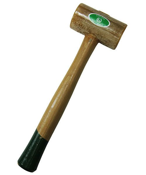 37.713 = Weighted Rawhide Mallet by Garland  (1-3/4'' face / 16oz head)