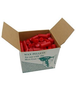 21.0951-08 = WAX GUN RED WAX FOR MATT GUN 130pc