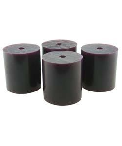 "21.02812 = Wax Rods PURPLE (Medium) (Set of 4) 1-1/2""x1-5/16"""