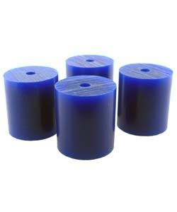 "21.02810 = Wax Rods BLUE (Soft) (Set of 4) 1-1/2""x1-5/16"""