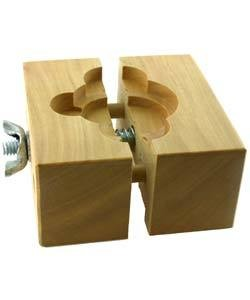 59.086 = WATCH MOVEMENT HOLDER VISE (HARDWOOD)