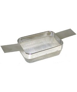CL5799F = ULTRASONIC BASKET(SMALL) STEEL MESH-FINE