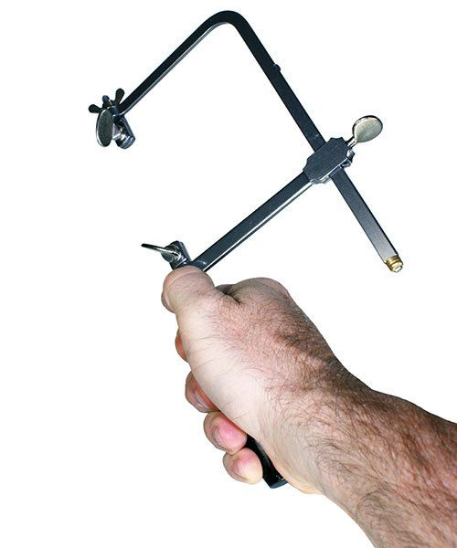49.754 = Adjustable Saw Frame with Tension Screw - 4'' Depth