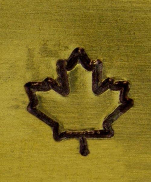PN5124 = ALTERNATIVE DESIGN STAMP - Maple leaf