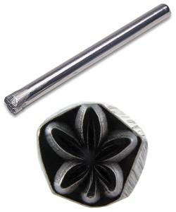 PN5117 = TRADITIONAL DESIGN STAMP - Cannibus leaf