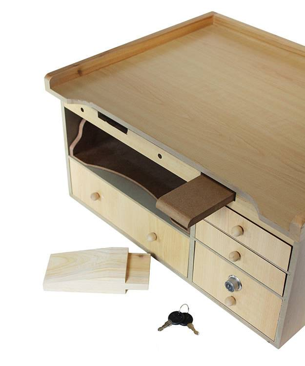 BN210 = Table Top Mini Jeweler Work Bench