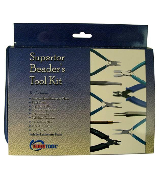 CD1059 = Superior Beader's Tool Kit by Eurotool