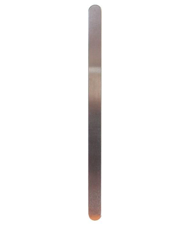 MSAL39114 = Aluminum Bracelet Blanks 3/8'' x 6'' 14ga (Pkg of 10)