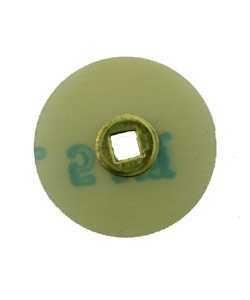 10.01124 = Aluminum Oxide Magnum Snap On Sanding Disc Medium 3/4'' dia (Pkg of 100)