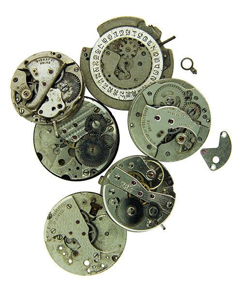 EB1015 = Steampunk Watch Faces by Lisa Pavelka