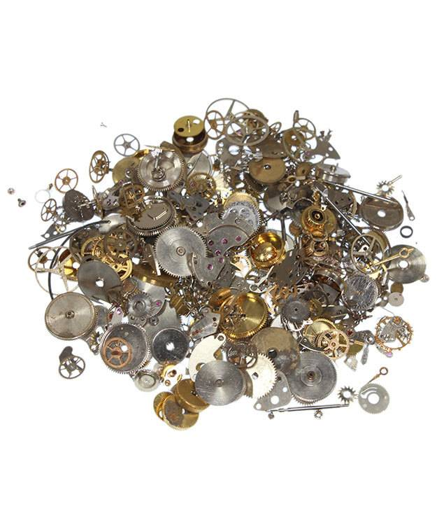 EB1051 = Steampunk Embellishments Watch Part Assortment (50 grams)